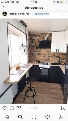 Pantry Design, Kitchen Cabinet Design, Interior Design Kitchen, Küchen Design, Deco Design, Home Decor Kitchen, Home Kitchens, Kitchen Ideas, Small Apartment Interior