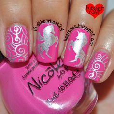 heartnat: Nicole by OPI Pink Seriously & Nailz Craze NC 02