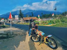 Mountain Merbabu