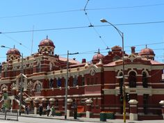 Melbourne City Baths, Swanston Street. First established on this site in 1860. Current building opened in 1904.
