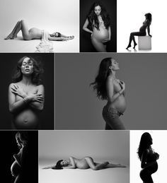 Artistic maternity silhouette photography, NYC, NY, Fine-art Pregnancy photography by Lola Melani, artistic b&w nude maternity portraits, pregnancy photography, silhouette photography, maternity session ideas, posing