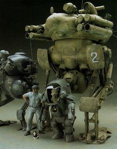 Maschinen Krieger ZbV3000 SF3D - Konigs Krote by Jpl3k - Jipple28, via Flickr