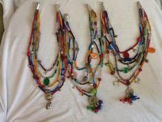 deli deli-sibeletakı Deli, Beaded Necklace, Hair Styles, Beauty, Jewelry, Fashion, Beaded Collar, Hair Plait Styles, Moda