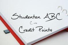 C wie Credit Points | Studenten ABC