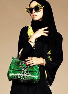 Dolce & Gabbana lança coleção com abayas e hijabs para as muçulmanas