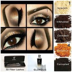 I LOVE a dramatic neutral eye! #younique #minerals have you covered! Complete this look with Younique makeup!