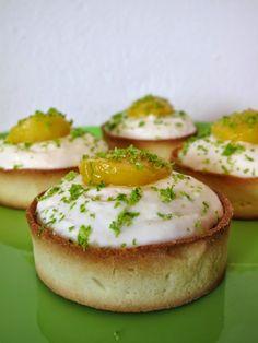 Tartelettes à la mangue & mousse rhum-coco | Les coups de coeur #foodporn de laplisitol.com