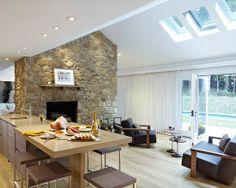 Living Room Skylights http://skylightinstallers.ca