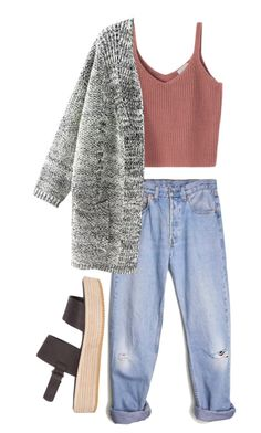 """CASUAL // OUTING"" by bubblywisdom ❤ liked on Polyvore featuring Levi's and Tony Bianco"