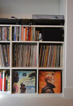 1000 Images About Record Storage Ideas On Pinterest