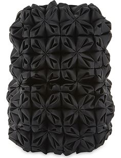 COMME DES GARCONS Floral leather backpack