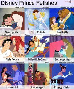 Lol Disney fetishes