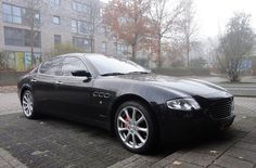 "Maserati Quattroporte (reminds me of the incredible movie ""les intouchables"""