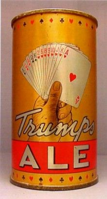 Trumps Ale Beer Can