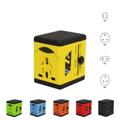 Amazon.com: #1 Rated Travel Adapter and Charger - USB Charging Ports - All International Standard Cell Phone/Desktop/Laptop/Touch Screen Tablet/Computer/GPS Chargers: Electronics http://www.amazon.com/gp/product/B01772GRL4