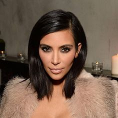The hair- new bob: stars from Emma Stone to Jourdan Dunn rock the new short New Short Haircuts, Short Hair Cuts, Kim K Short Hair, Medium Hair Styles, Short Hair Styles, Longbob Hair, Le Contouring, Hair Colorful, Great Hair