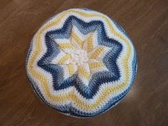 My first ripple pillow. Need to do another one...