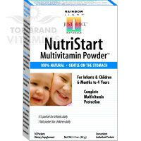 Nutristart Multivitamin Powder - 25 Pkt by Rainbow Light. The most comprehensive supplemental nutrition available for supporting young children's optimal growth and development.