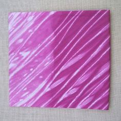 Shibori wrap dye-- its so pretty and seems so easy!