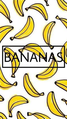 Wallpaper iPhone banana