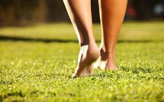 Walking barefoot is also known as earthing or grounding, and is showing in research to be good for your heart and immune system.