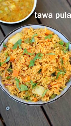 mumbai tawa pulao recipe, pav bhaji pulao with step by step photo/video. popular & spicy street style pulao recipe with long grain rice & pav bhaji masala. Veg Recipes, Spicy Recipes, Vegetarian Recipes, Cooking Recipes, Pasta Recipes, Veg Pulao Recipe, Bhaji Recipe, Plat Vegan, Indian Dessert Recipes