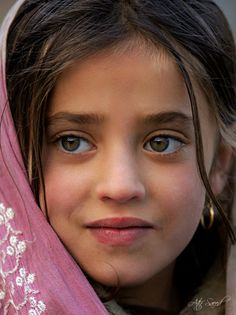Young girl from Middle East/India