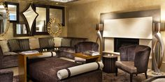 70 Park Hotel: Expect signature touches of the Kimpton Hotel group, like whimsical decor in the lounge.