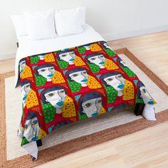 Promote | Redbubble Home Deco, Comforters, Quilts, Blanket, Studio, Bed, Unique, Creature Comforts, Stream Bed