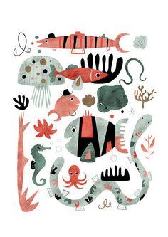 Fish by Sarah Andreacchio