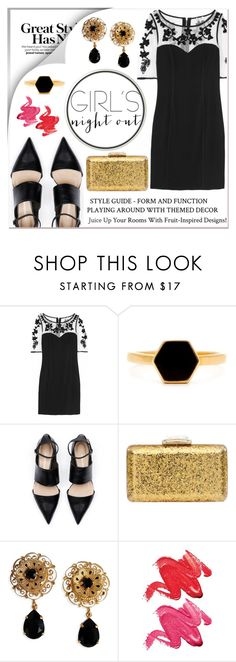 """Untitled #48"" by roxeyturner ❤ liked on Polyvore featuring Temperley London, KOTUR, Dolce&Gabbana and Stila"
