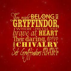 Gryffindor (Not mine)