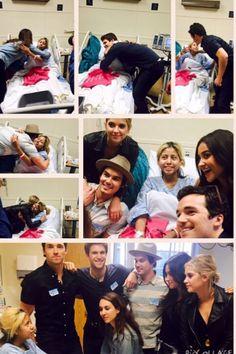 #LAChildrensHospital Troian Bellisario, Keegan Allen, Ian Harding, Tyler Blackburn, Ashley Benson, & Shay Mitchell