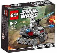 Lego Star Wars Microfighters Clone Turbo Tank 75028 ORIGINAL LEGO INCLUYE 1 FIGURA IMPORTADO