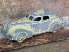 Blue Mercedes Roadster 190S / Tootsie / by assemblage333 on Etsy, $15.00