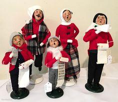 Christmas Carolers - so cute!