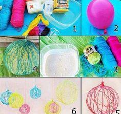 Decoration DIY tutorials.