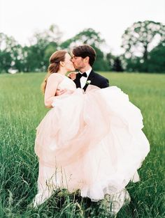 {you know... just kiss in a field. Because why not?!}