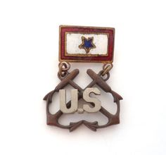 Vintage WWII Son In the Service One Star by CuriousityShopInc
