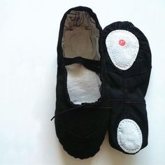 Girls Black Ballet Shoes