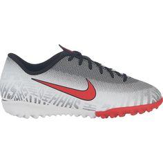 277c0e6bdf7542 Nike Junior Mercurial Vapor X XII Academy NJR TF Artificial Turf Soccer  Shoe White Red Black-1