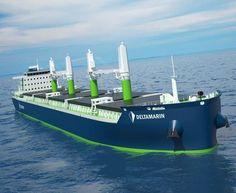 Deltamarin Wins Order for Fuel-Efficient Bulker Designs (Finland) - Offshore Energy Merchant Navy, Merchant Marine, Tanker Ship, Oil Platform, Oil Tanker, Naval, Tug Boats, Sea And Ocean, Luxury Yachts