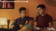 Bedtime story … From spider999now … alexander 'alec' lightwood, magnus bane, the mortal instruments, shadowhunters, madzie, warlock, malec