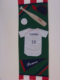 quilted Baseball Banner