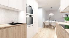 Dobryinterier.sk Kitchen Units, Kitchen Island, Kitchen Countertops, Table, Furniture, Home Decor, Island Kitchen, Homemade Home Decor, Kitchen Counters