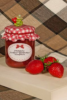 Chefkoch.de Rezept: Erdbeer - Rhabarber - Marmelade