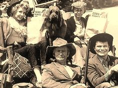 Black gold....Texas tea....  cast of the show -   the-beverly-hillbillies photo