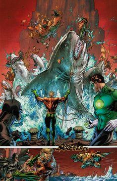 Aquaman Mega Shark Attack