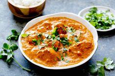Turkey tikka masala. Can easily sub in rotisserie chicken!