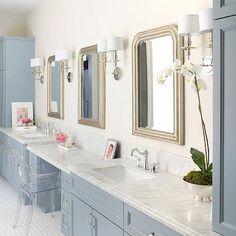 Blue Vanity